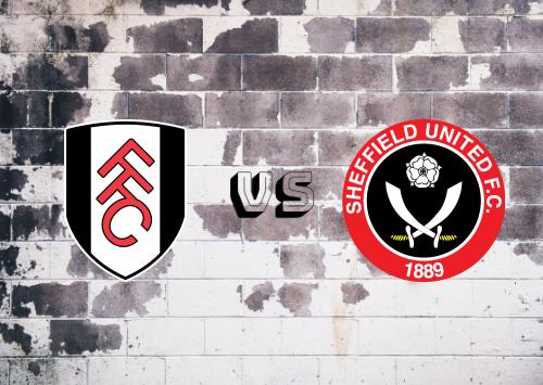 Fulham vs Sheffield United  Resumen