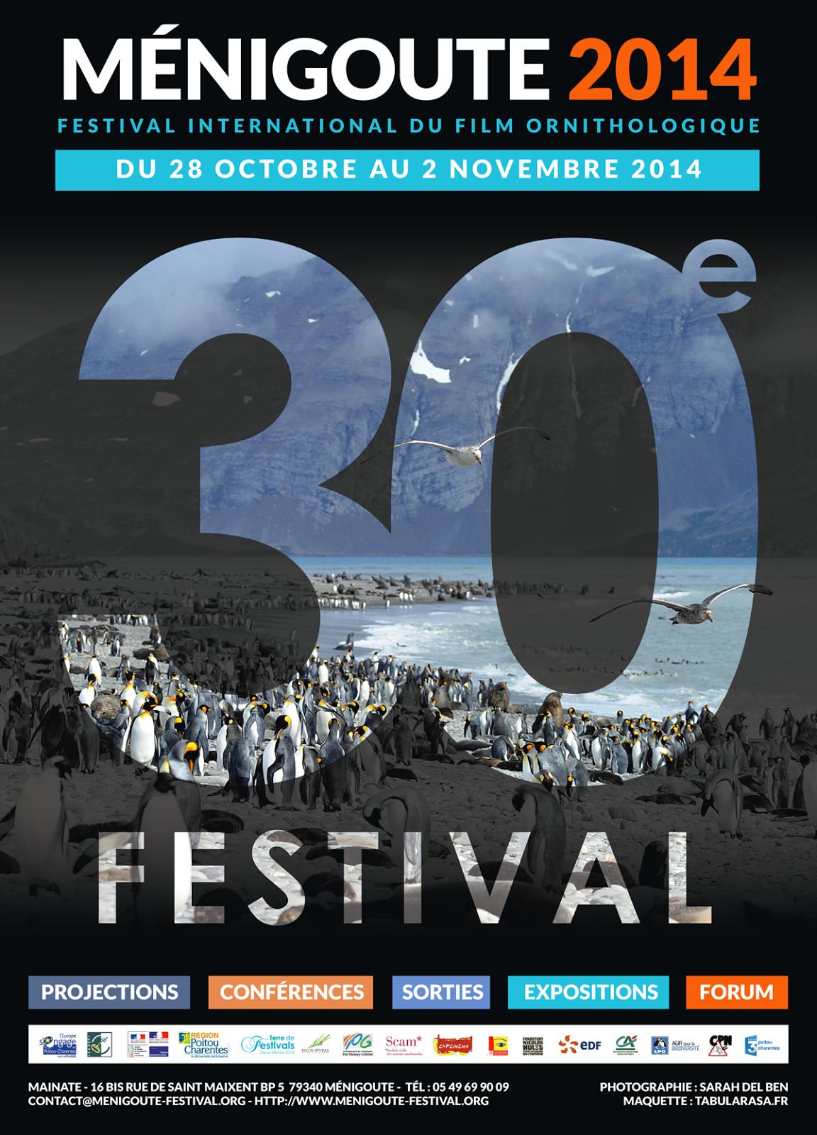 L'affiche du trentième festival ornithologique de Ménigoute