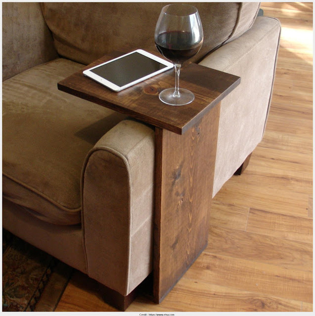 Beautiful Chair Arm Table Graphic