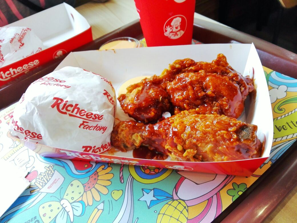 Fire Chicken Richeese Factory Batam