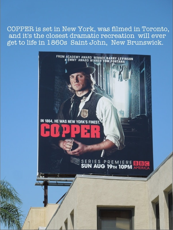 COPPER - a TV drama transports viewers from the FIVE POINTS of New
