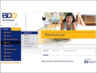 Personal Loan Sa BDO Para Sa Mga OFW