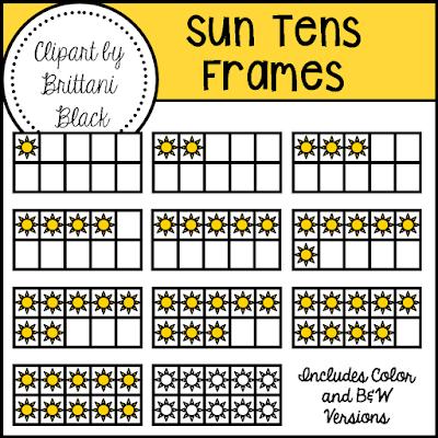 https://www.teacherspayteachers.com/Product/Sun-Tens-Frames-2470952