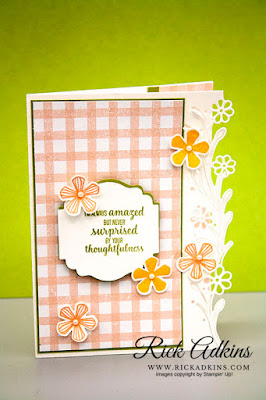 Rick Adkins, Stampin' Up! Thoughtful Blooms