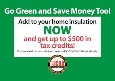 Save Up To $500 By Adding Insulation - Delmarva Insulation