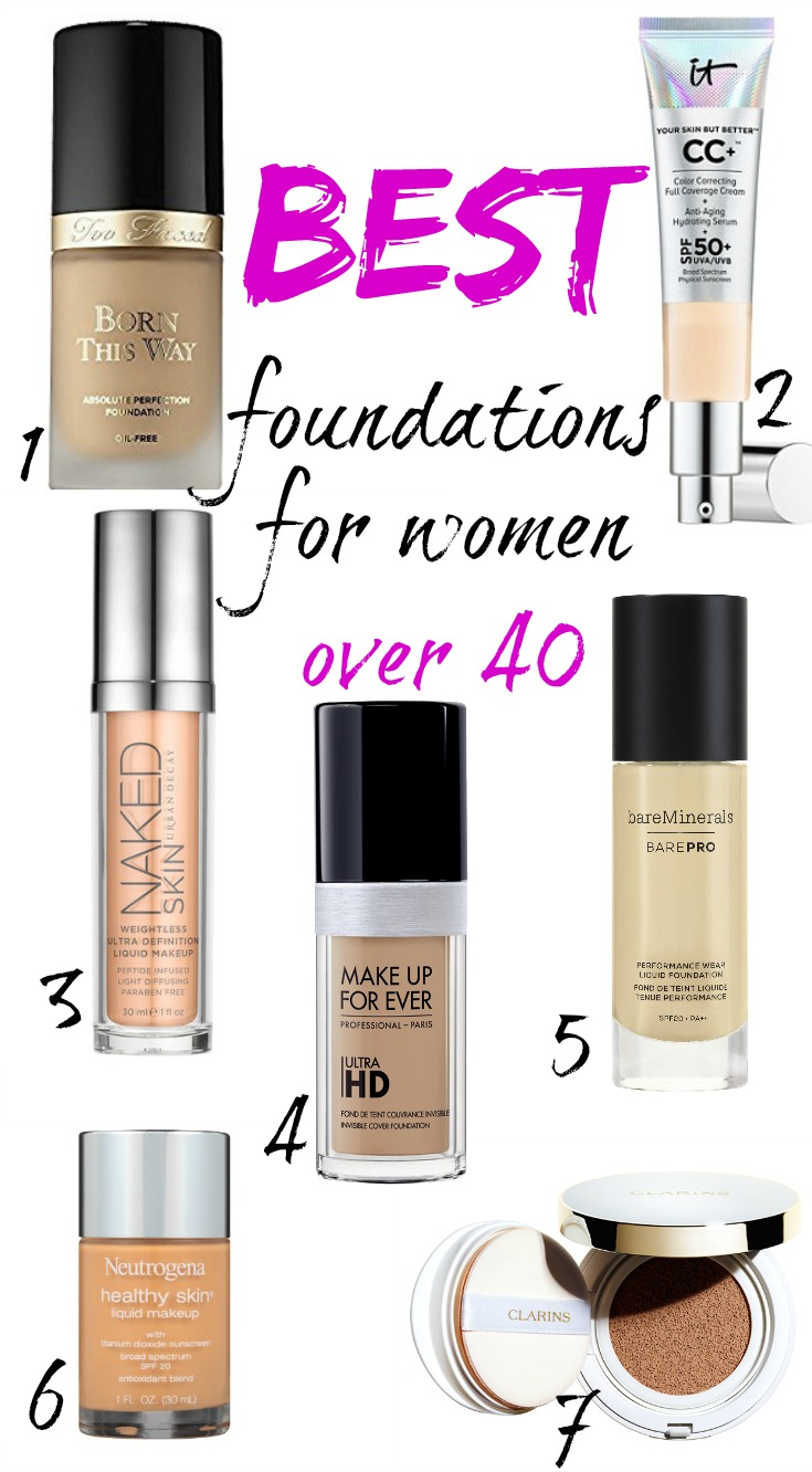 Best Liquid Foundation For Older Women