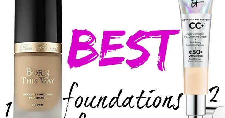 Best foundation for skin over 40