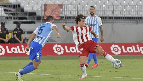 Almería - Málaga, alineaciones posibles