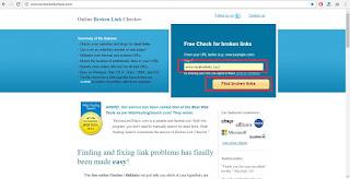 Tips Mudah Mengetahui Link Mati Di Setiap Artikel Blog Tanpa Bantuan Webmaster Tools
