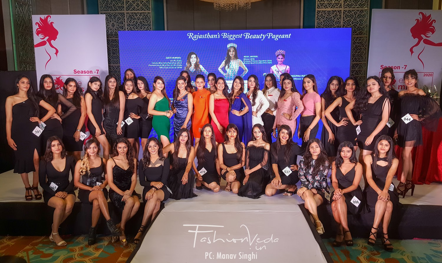first round of Jaipur audition of Elite Miss Rajasthan 2020