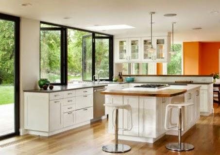 Contoh Desain Jendela Dapur Miimalis Sederhana