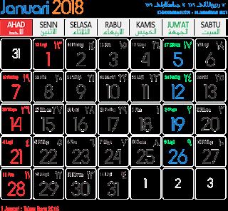 Jualan Kalender Unik 2018 , Usaha Musiman Di Akhir Tahun