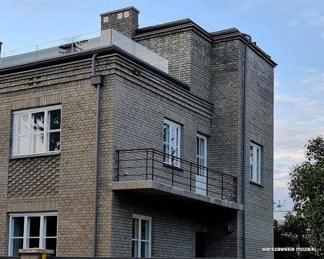 Warszawa Warsaw Żoliborz lata 30 architektura architecture dom willa Spółdzielnia Techników Miejskich