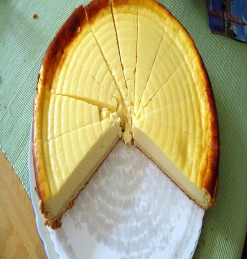Manhattan Style Cheesecake recipe