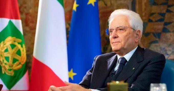 Covid, Mattarella: ''Ci attende un periodo di ricostruzione''