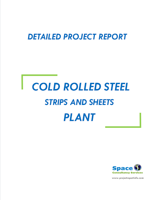 Project Report on Cold Rolling of Steel Strips Plant