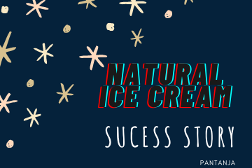 Naturals ice cream founder biography। Naturals success story।