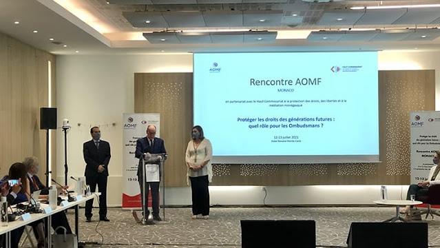 Monaco- le médiateur du Royaume appelle à la protection des droits des générations futures