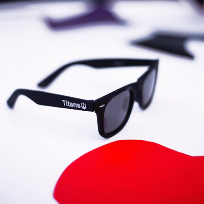 House of Lunettes sunglasses customized for titans