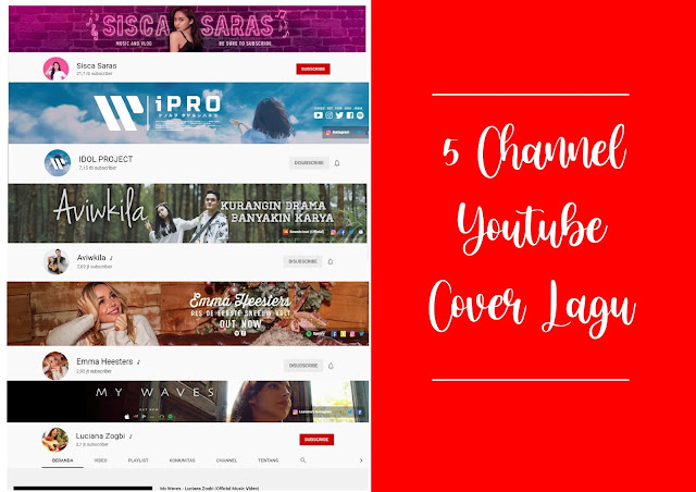 Channel Youtube Musik Cover