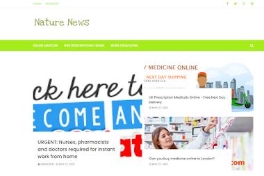 Nature News Affiliate Template