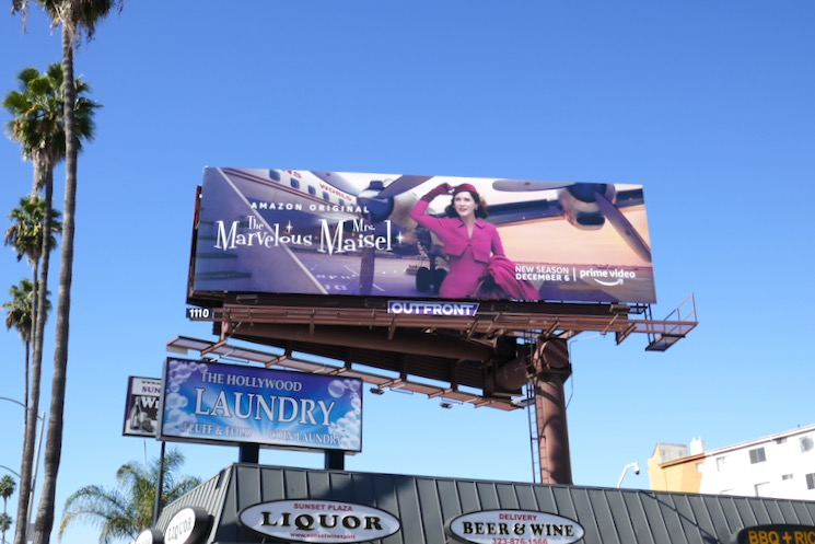 Mrs Maisel season 3 billboard