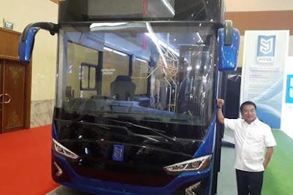 Komponen Inti Bus Listrik Moeldoko Ternyata Buatan China