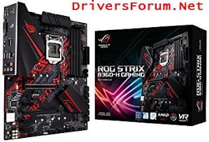 Asus Rog Strix B360-H Gaming Drivers