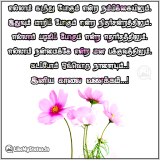 Tamil good morning wishes