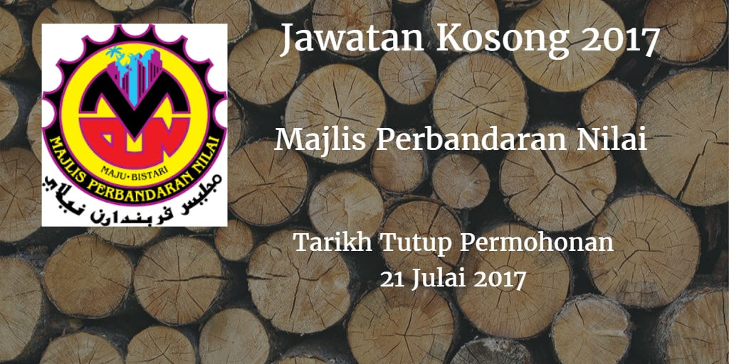 Jawatan Kosong MPN 21 Julai 2017