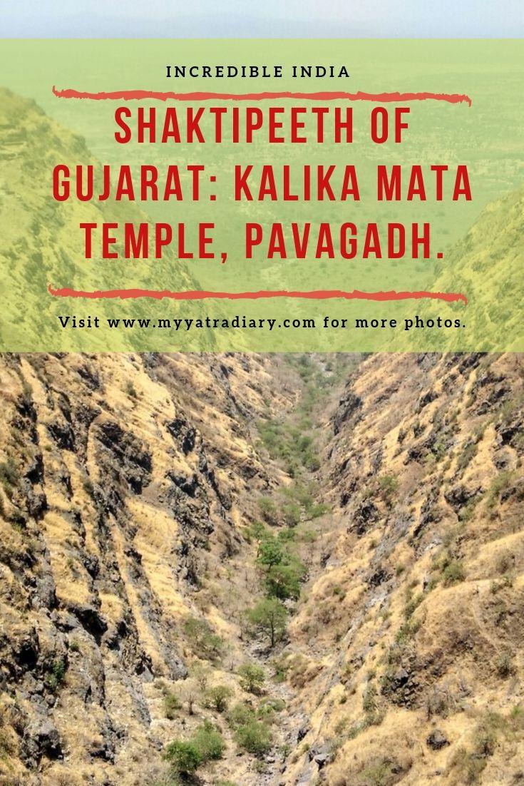 Incredible India - ShaktiPeeth of Gujarat, Mahakalika Mata Temple, Pavagadh.