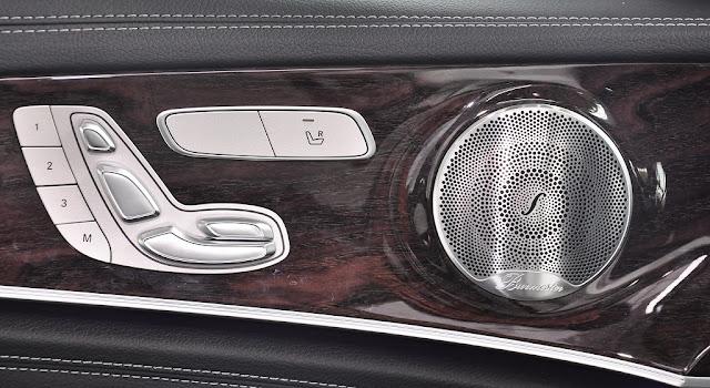 Mercedes E250 2017 sử dụng Âm thanh vòm Brumerster 13 loa