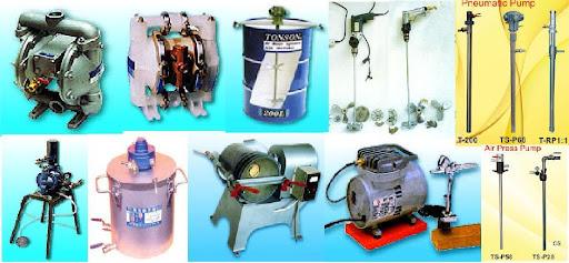 Aplikasi pneumatic air motor / Air Gearmotor