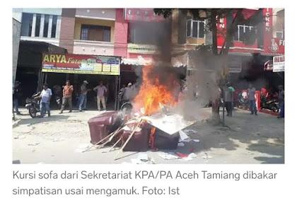 Massa KPA/PA Aceh Tamiang Meungamok, Ubee Na Surat Ngön Kureusi Sofa Jitet