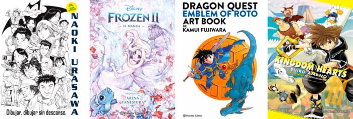 Novedades Planeta Comic octubre 2021 - guías, artbooks y mangas Disney