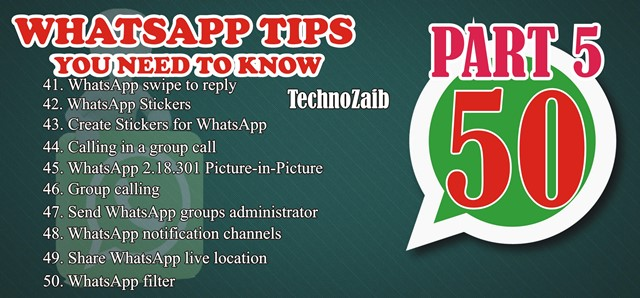 50 indispensable whatsapp tips you need to know PART 5