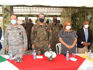 Ministerio de Defensa, Salud Pública y Gobernación de Azua, anuncian segunda jornada de Vacunación masiva
