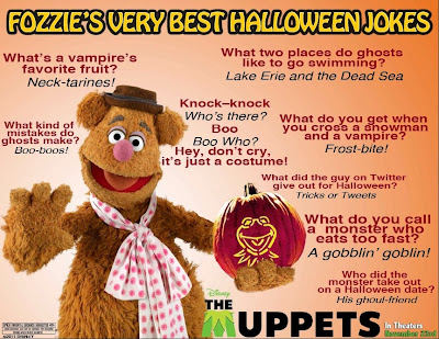 Fozzie's Very Best Halloween Jokes