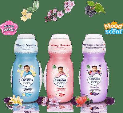 Cussons baby powder