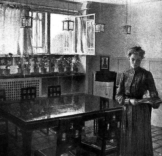 a 1904 kitchen model in Germany