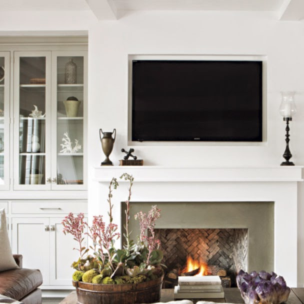 Restyle It Wright Styling A Mantle With A Tv