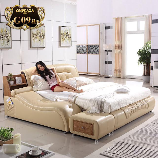 Các mẫu giường ngủ gỗ hiện đại đẹp xinh cho phòng ngủ 20m2