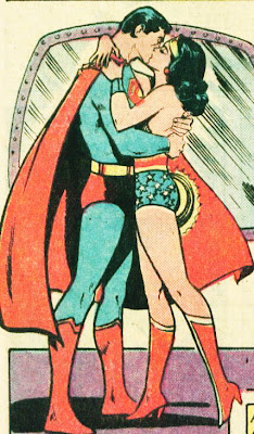 All the Superman Wonder Woman kisses