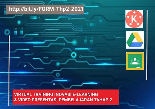 Daftar Peserta Tetap Tahap 2-2021 Virtual Training Online Inovasi E-learning dan Produksi Video Presentasi Pembelajaran