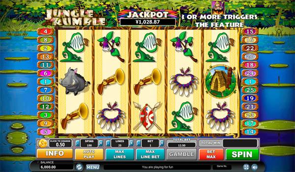 Main Gratis Slot Indonesia - Jungle Rumble Habanero