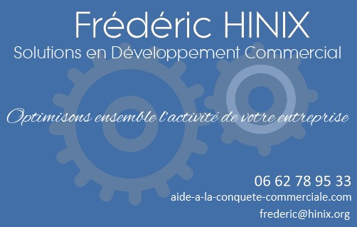 Frédéric Hinix - Solutions en développement commercial