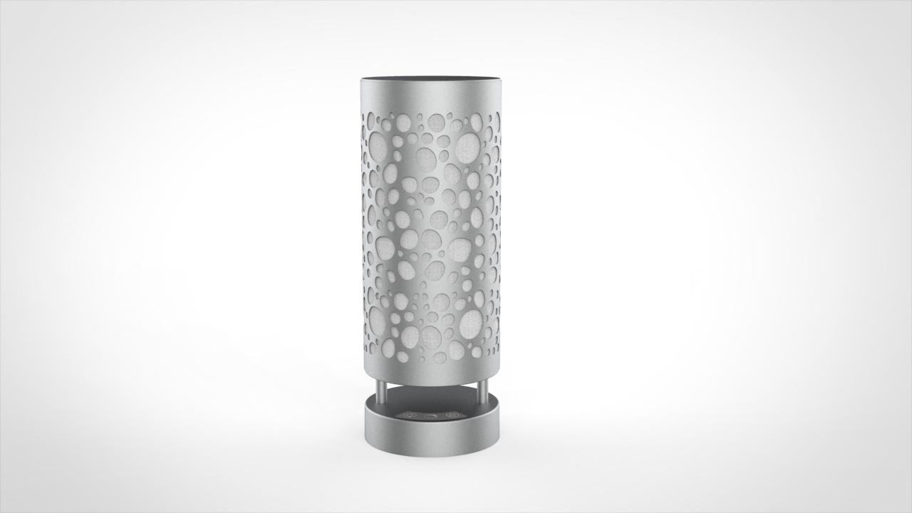 COVID air-sanitizing lamp