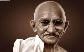 Famous quotes from Mahatma Gandhi