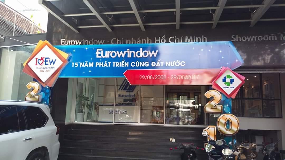 Showroom Eurowindow Đông Sài Gòn