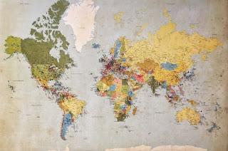 World Map - Photo by Andrew Stutesman on Unsplash